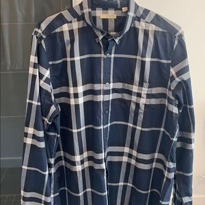 Burberry Brit Button Down Cotton Shirt